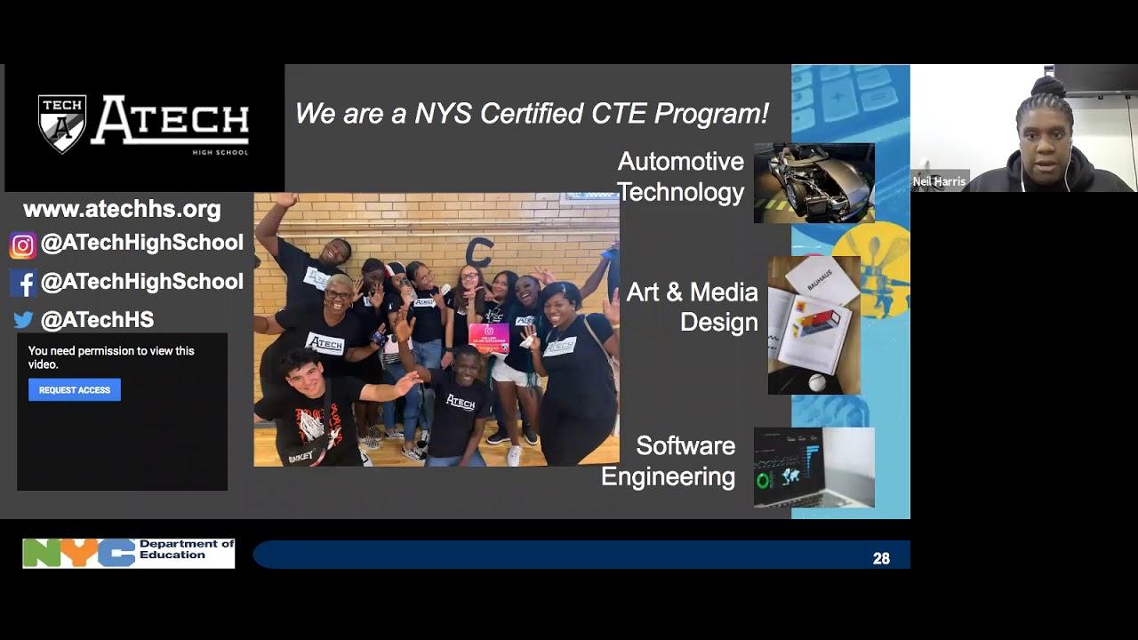 CTE Brooklyn Virtual HS Fair