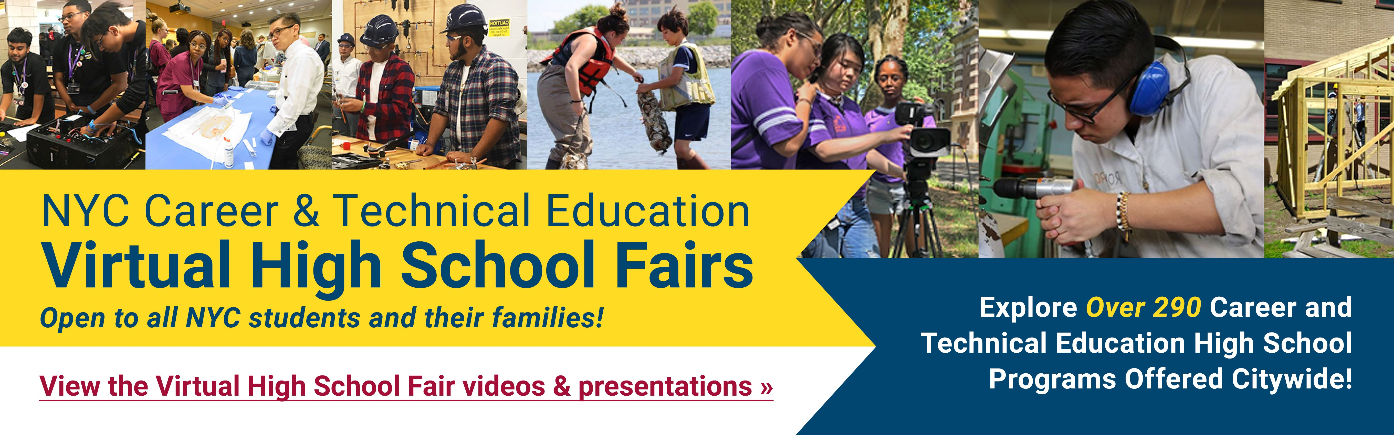 View the Virtual High School Fair videos and presentations!